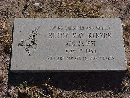 KENYON, RUTHY - Gila County, Arizona | RUTHY KENYON - Arizona Gravestone Photos