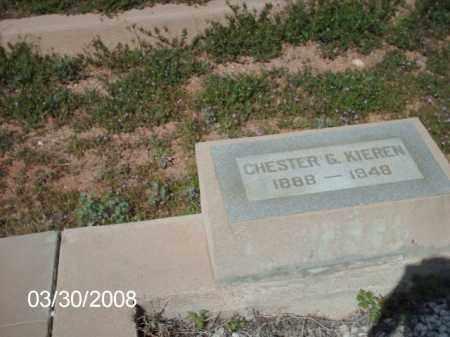 KIEREN, CHESTER G. - Gila County, Arizona | CHESTER G. KIEREN - Arizona Gravestone Photos