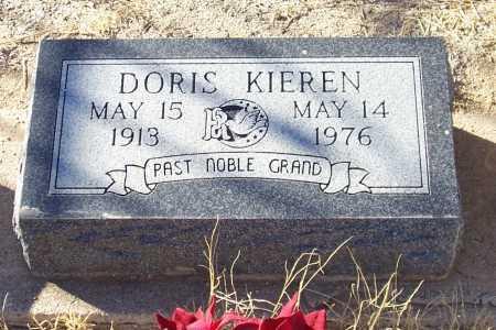 KIEREN, DORIS - Gila County, Arizona | DORIS KIEREN - Arizona Gravestone Photos