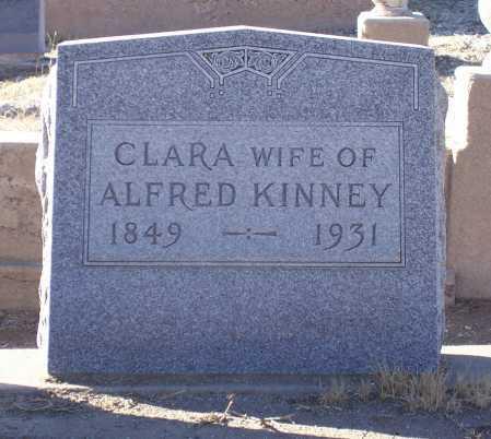 KINNEY, CLARA - Gila County, Arizona | CLARA KINNEY - Arizona Gravestone Photos