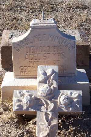 KINSMAN, CAROLINE F. - Gila County, Arizona   CAROLINE F. KINSMAN - Arizona Gravestone Photos