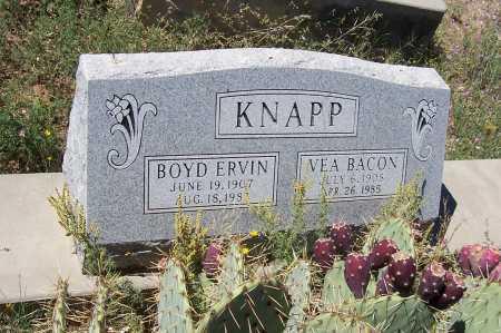 BACON KNAPP, VEA - Gila County, Arizona   VEA BACON KNAPP - Arizona Gravestone Photos