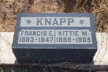KNAPP, KITTIE M. - Gila County, Arizona   KITTIE M. KNAPP - Arizona Gravestone Photos