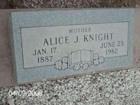 KNIGHT, ALICE - Gila County, Arizona   ALICE KNIGHT - Arizona Gravestone Photos