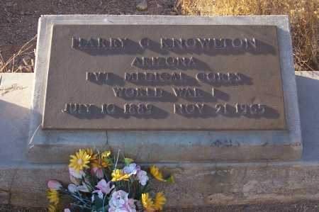 KNOWLTON, HARRY G. - Gila County, Arizona | HARRY G. KNOWLTON - Arizona Gravestone Photos