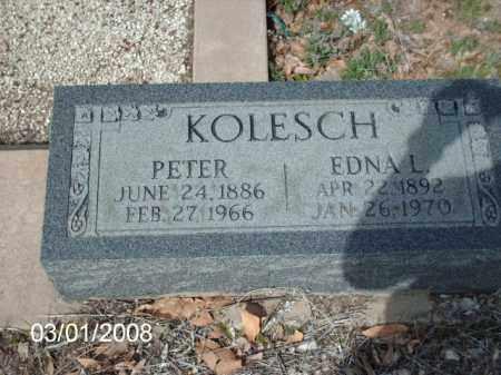 KOLESCH, PETER - Gila County, Arizona | PETER KOLESCH - Arizona Gravestone Photos