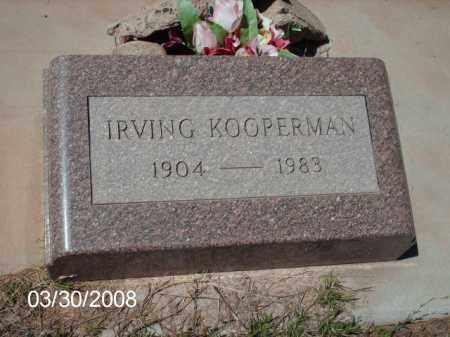 KOOPERMAN, IRVING - Gila County, Arizona | IRVING KOOPERMAN - Arizona Gravestone Photos