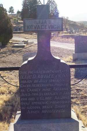 KOVACEVICH, ILIJA D. - Gila County, Arizona | ILIJA D. KOVACEVICH - Arizona Gravestone Photos