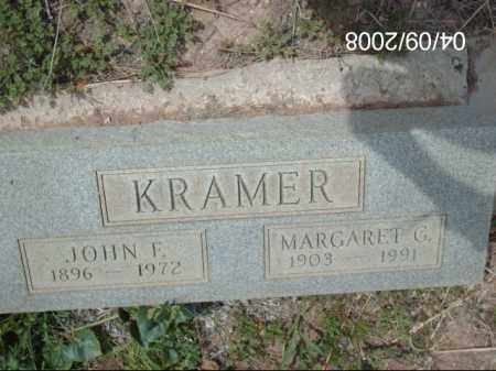 KRAMER, JOHN F. - Gila County, Arizona | JOHN F. KRAMER - Arizona Gravestone Photos