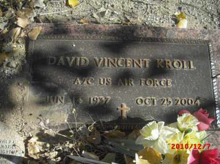 KROLL, DAVID VINCENT - Gila County, Arizona | DAVID VINCENT KROLL - Arizona Gravestone Photos
