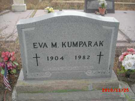 KUMPARAK, EVA M. - Gila County, Arizona | EVA M. KUMPARAK - Arizona Gravestone Photos