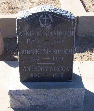 NOZICA, ANTHONY - Gila County, Arizona   ANTHONY NOZICA - Arizona Gravestone Photos