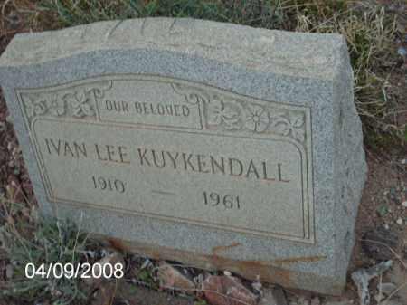 KUYKENDALL, IVAN LEE - Gila County, Arizona | IVAN LEE KUYKENDALL - Arizona Gravestone Photos
