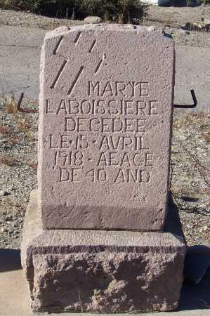 LABOISSIERE, MARY E. - Gila County, Arizona | MARY E. LABOISSIERE - Arizona Gravestone Photos