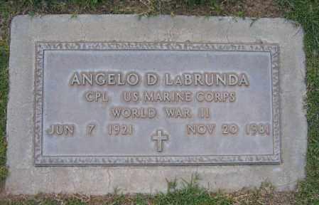 LABRUNDA, ANGELO - Gila County, Arizona | ANGELO LABRUNDA - Arizona Gravestone Photos