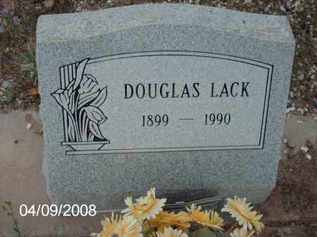 LACK, DOUGLAS - Gila County, Arizona | DOUGLAS LACK - Arizona Gravestone Photos