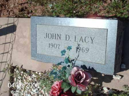 LACY, JOHN D. - Gila County, Arizona | JOHN D. LACY - Arizona Gravestone Photos