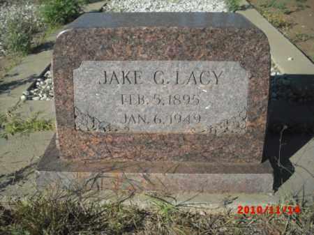 LACY, JAKE G. - Gila County, Arizona | JAKE G. LACY - Arizona Gravestone Photos