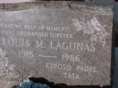 LAGUNAS, LOUIS  M. - Gila County, Arizona | LOUIS  M. LAGUNAS - Arizona Gravestone Photos