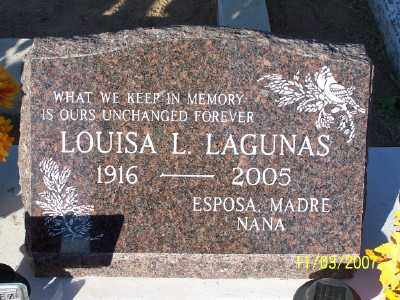 LAGUNAS, LOUISA - Gila County, Arizona | LOUISA LAGUNAS - Arizona Gravestone Photos