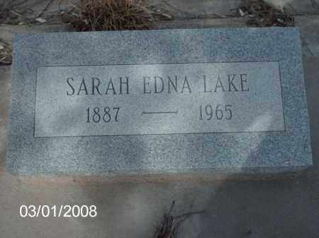 LAKE, SARAH - Gila County, Arizona | SARAH LAKE - Arizona Gravestone Photos