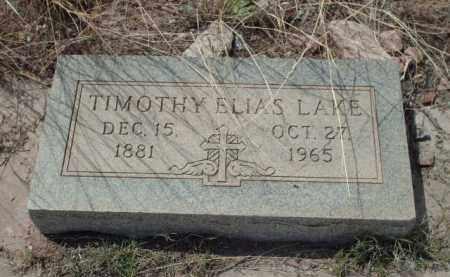 LAKE, TIMOTHY ELIAS - Gila County, Arizona | TIMOTHY ELIAS LAKE - Arizona Gravestone Photos
