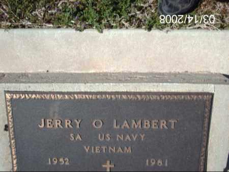LAMBERT, JERRY - Gila County, Arizona   JERRY LAMBERT - Arizona Gravestone Photos