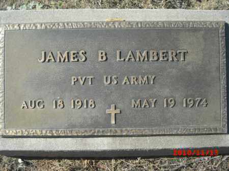 LAMBERT, JAMES B. - Gila County, Arizona | JAMES B. LAMBERT - Arizona Gravestone Photos