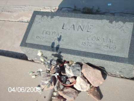 LANE, FRED C. - Gila County, Arizona | FRED C. LANE - Arizona Gravestone Photos