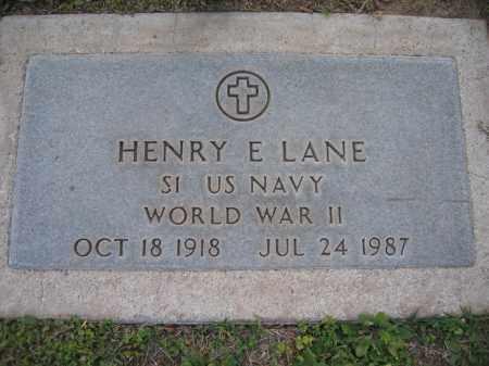 LANE, HENRY - Gila County, Arizona | HENRY LANE - Arizona Gravestone Photos