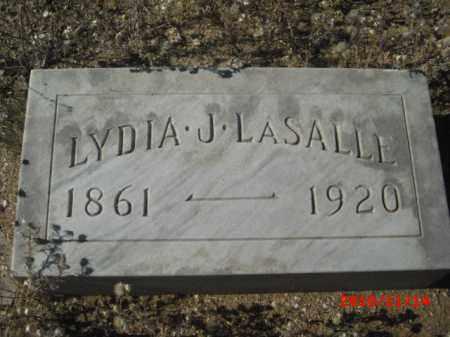 LASALLE, LYDIA J. - Gila County, Arizona | LYDIA J. LASALLE - Arizona Gravestone Photos