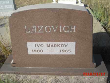 LAZOVICH, IVO MARKOV - Gila County, Arizona | IVO MARKOV LAZOVICH - Arizona Gravestone Photos