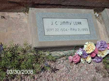 LEAR, J. C. - Gila County, Arizona   J. C. LEAR - Arizona Gravestone Photos