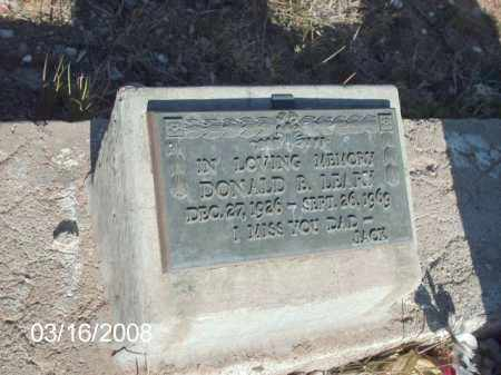 LEARY, DONALD B. - Gila County, Arizona | DONALD B. LEARY - Arizona Gravestone Photos
