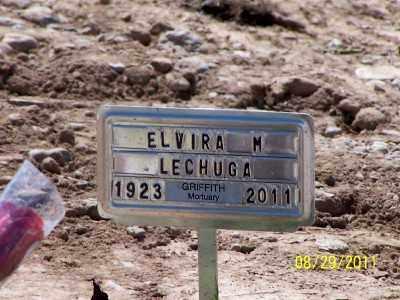 LECHUGA, ELVIRA M. - Gila County, Arizona | ELVIRA M. LECHUGA - Arizona Gravestone Photos