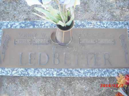 LEDBETTER, SONNY W. - Gila County, Arizona | SONNY W. LEDBETTER - Arizona Gravestone Photos