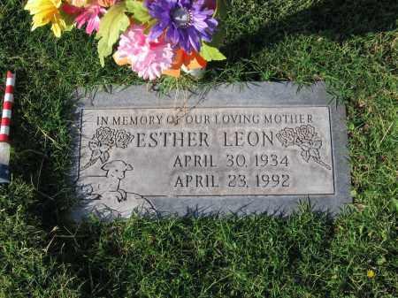 LEON, ESTHER - Gila County, Arizona | ESTHER LEON - Arizona Gravestone Photos