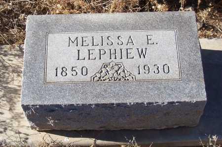 LEPHIEW, MELISSA E. - Gila County, Arizona | MELISSA E. LEPHIEW - Arizona Gravestone Photos