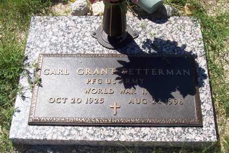 LETTERMAN, CARL GRANT - Gila County, Arizona | CARL GRANT LETTERMAN - Arizona Gravestone Photos