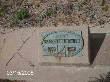 LEWIS, FORREST - Gila County, Arizona | FORREST LEWIS - Arizona Gravestone Photos