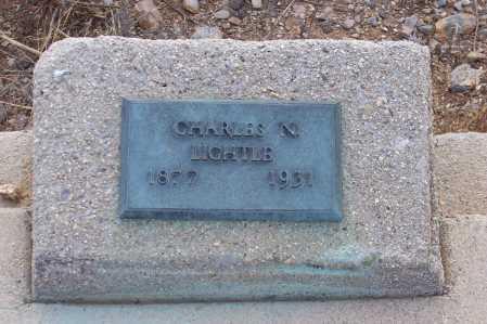 LIGHTLE, CHARLES N. - Gila County, Arizona | CHARLES N. LIGHTLE - Arizona Gravestone Photos