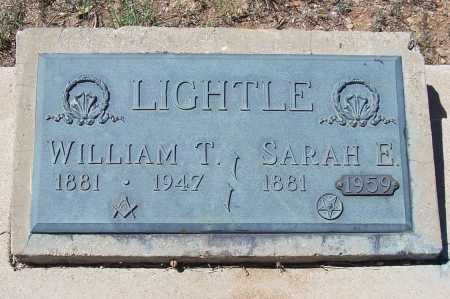 LIGHTLE, WILLIAM T. - Gila County, Arizona   WILLIAM T. LIGHTLE - Arizona Gravestone Photos