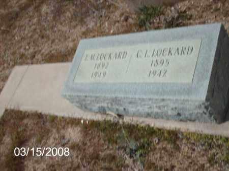 LOCKARD, C - Gila County, Arizona | C LOCKARD - Arizona Gravestone Photos