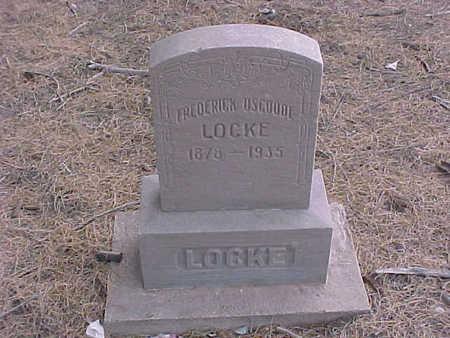 LOCKE, FREDRICK OSGOODE - Gila County, Arizona | FREDRICK OSGOODE LOCKE - Arizona Gravestone Photos