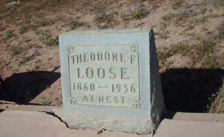 LOOSE, THEODORE F. - Gila County, Arizona   THEODORE F. LOOSE - Arizona Gravestone Photos