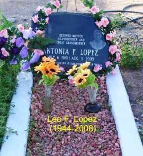 LOPEZ, ANTONIA  F. - Gila County, Arizona | ANTONIA  F. LOPEZ - Arizona Gravestone Photos