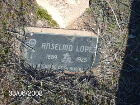 LOPEZ, ANSELNO - Gila County, Arizona | ANSELNO LOPEZ - Arizona Gravestone Photos