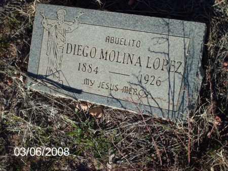 LOPEZ, DIEGO - Gila County, Arizona | DIEGO LOPEZ - Arizona Gravestone Photos