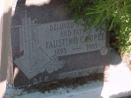 LOPEZ, FAUSTINO  C. - Gila County, Arizona | FAUSTINO  C. LOPEZ - Arizona Gravestone Photos