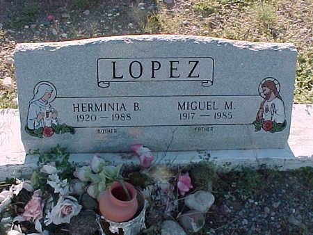LOPEZ, HERMINIA  B. - Gila County, Arizona | HERMINIA  B. LOPEZ - Arizona Gravestone Photos